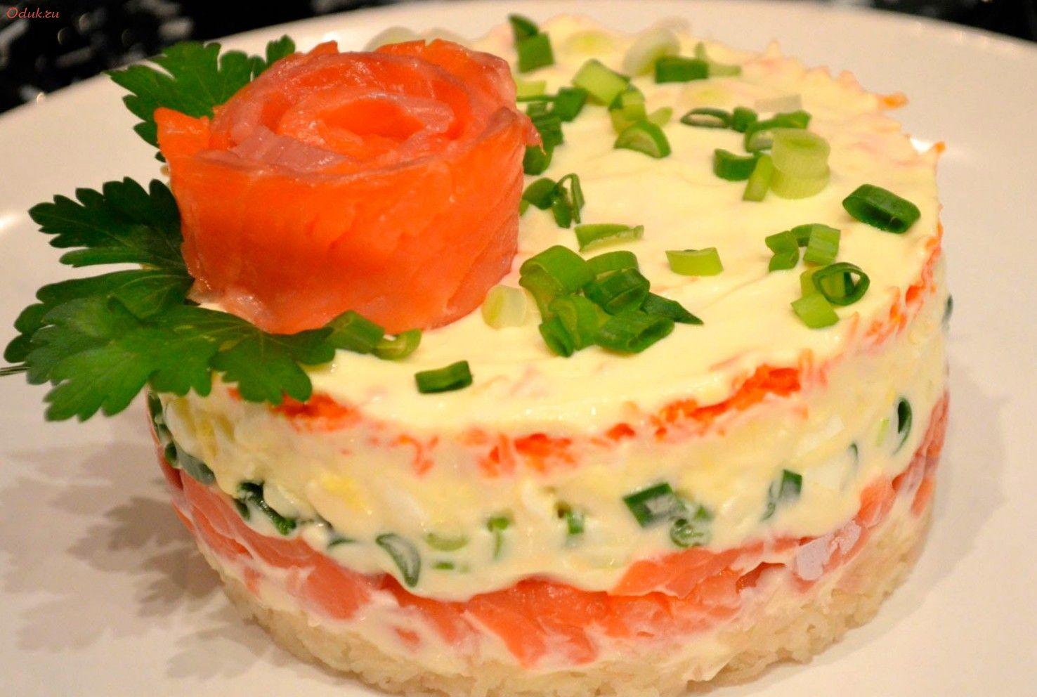 моднице салат с семгой и картошкой фото рецепт главное взаимной